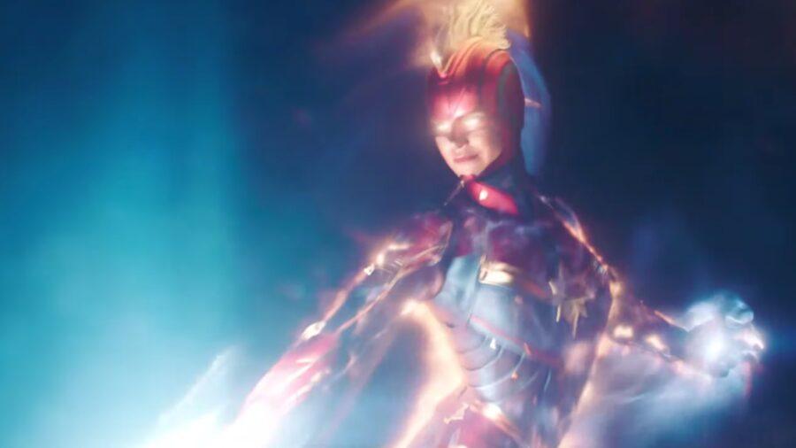 captain marvel fire