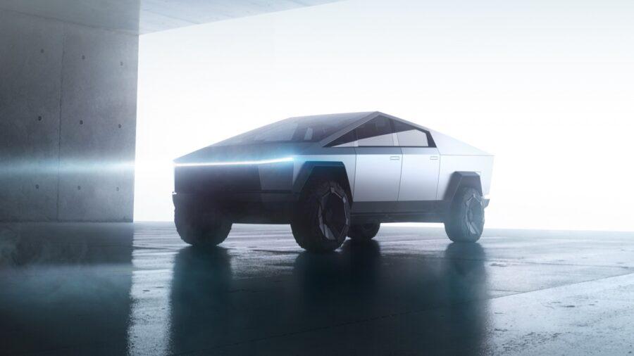 Tesla truck exterior