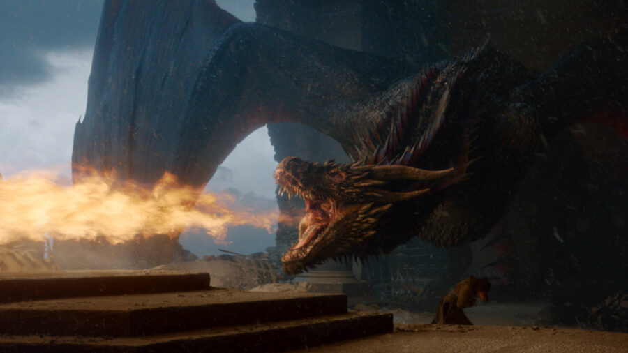 Dragons on HBO