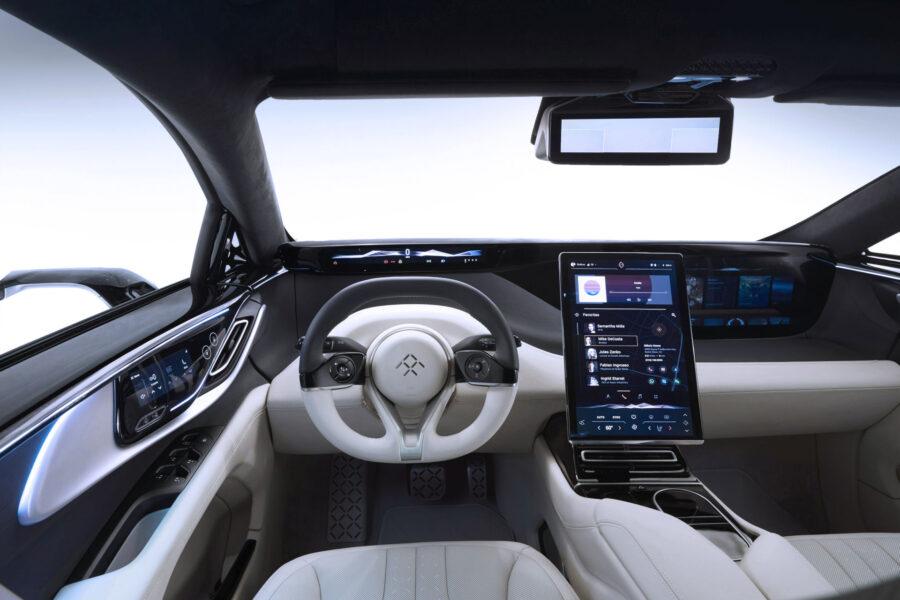 Electric Car Interior