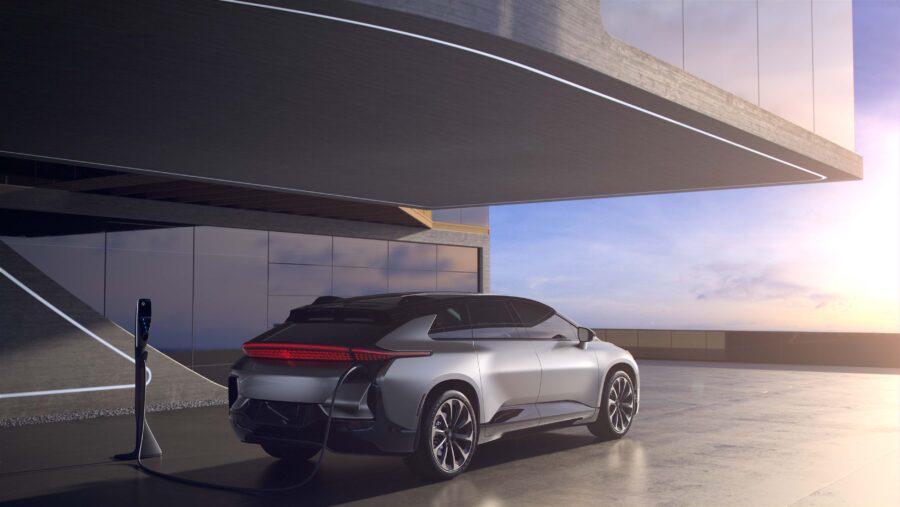 Faraday Future Electric Car