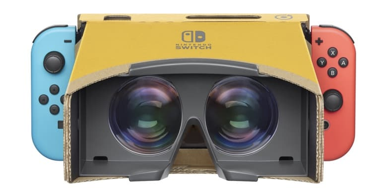 Nintendo Labo Virtual Reality