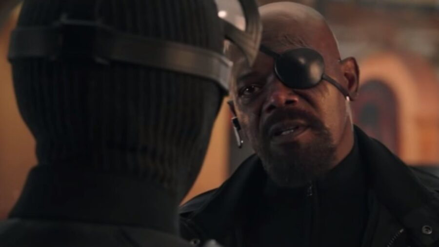 Nick Fury for Spider-man 3