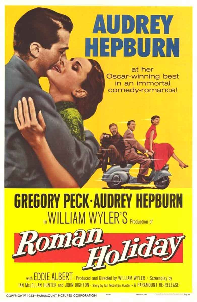 Roman Holiday movie free