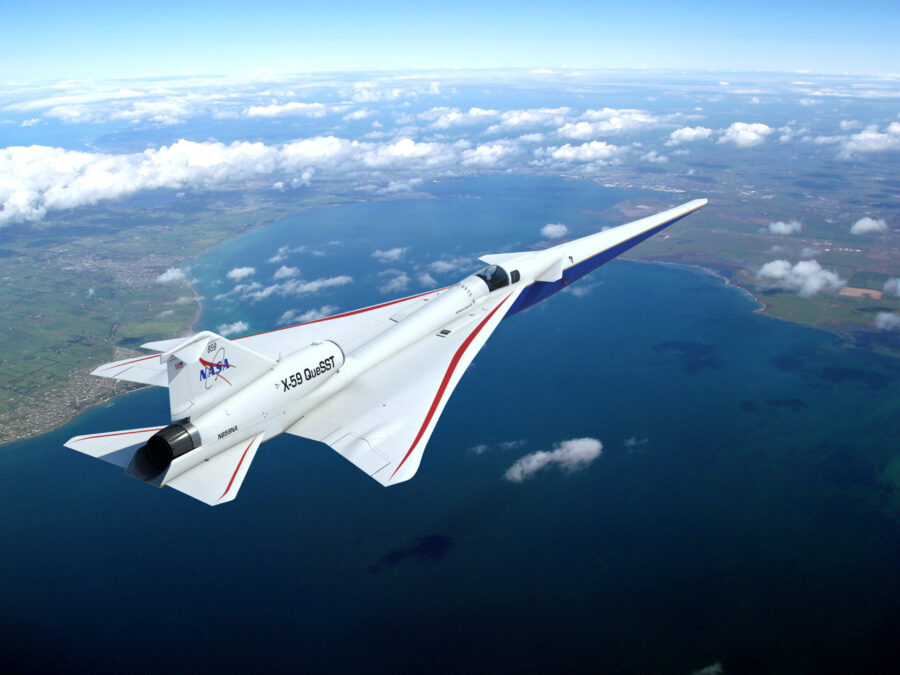 NASA Aircraft X-59