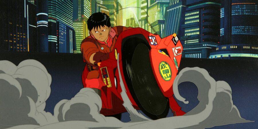 Kaneda in the movie