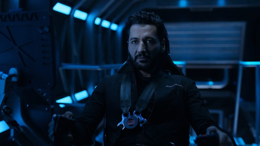 Alex in The Expanse