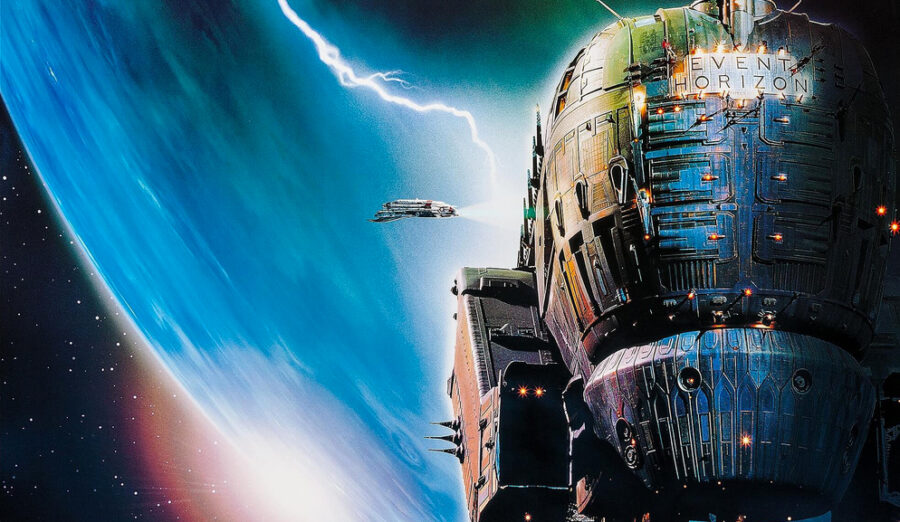 Revisiting the movie Event Horizon