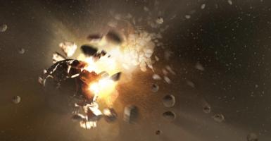 Meteor Space Crash
