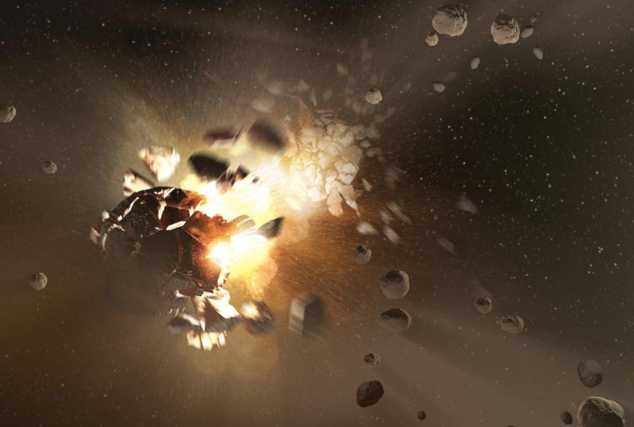 alien meteorite
