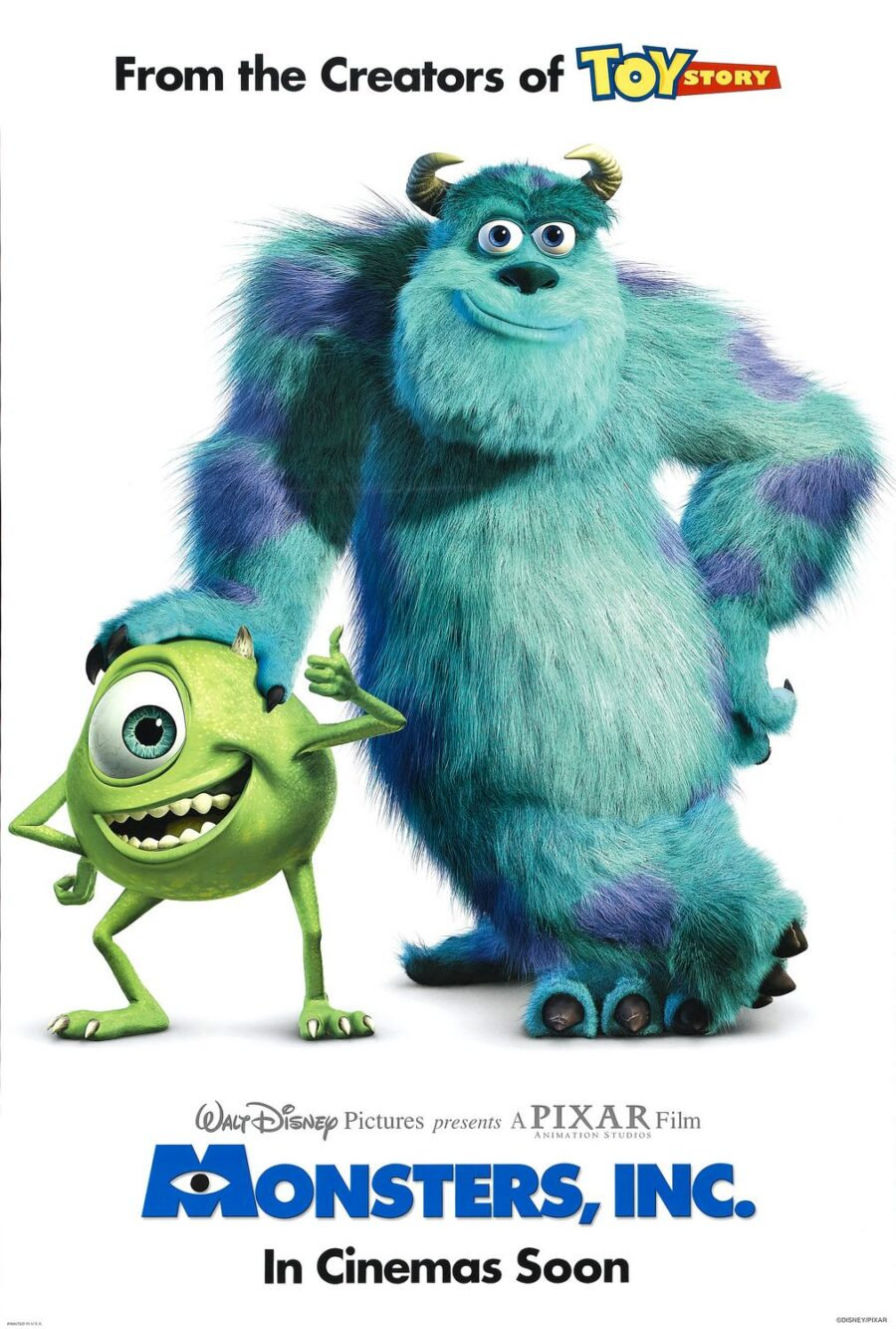 Pixar's best monster movie