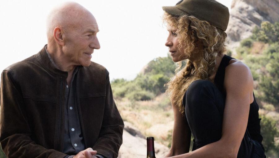 Picard and Raffi