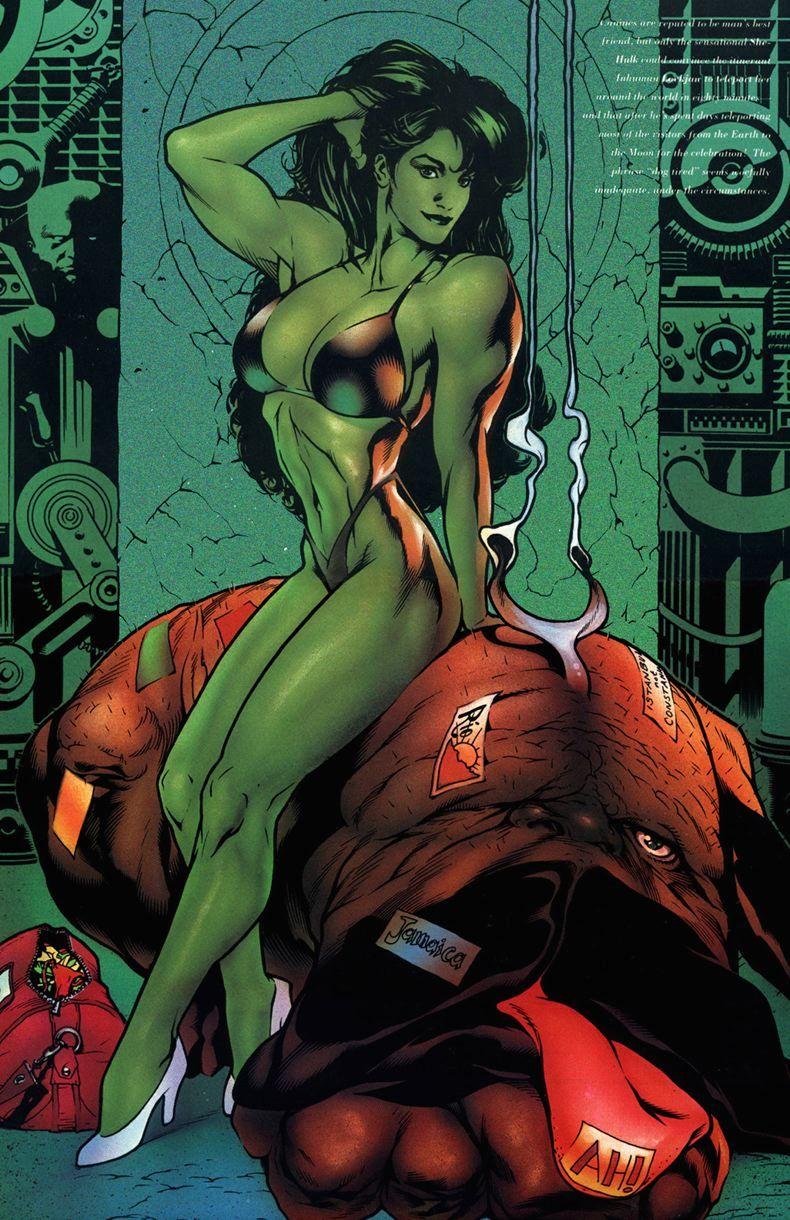 She-Hulk bikini