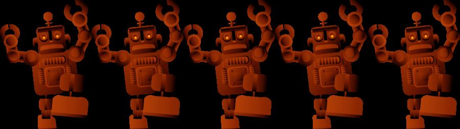 5 robots