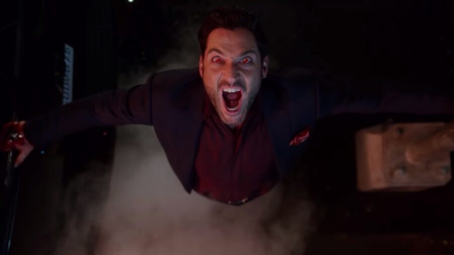 Lucifer angry