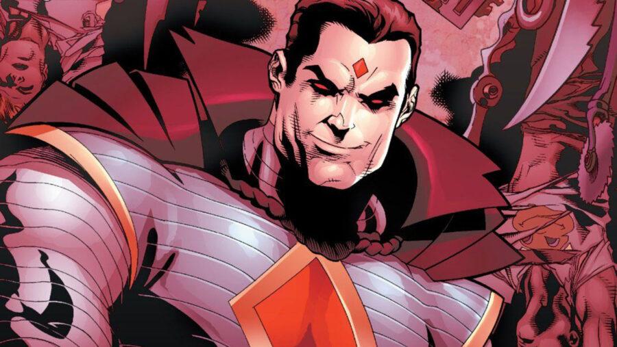 Superhero villain
