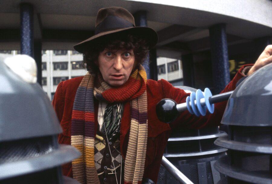 Tom Baker as The Doctor