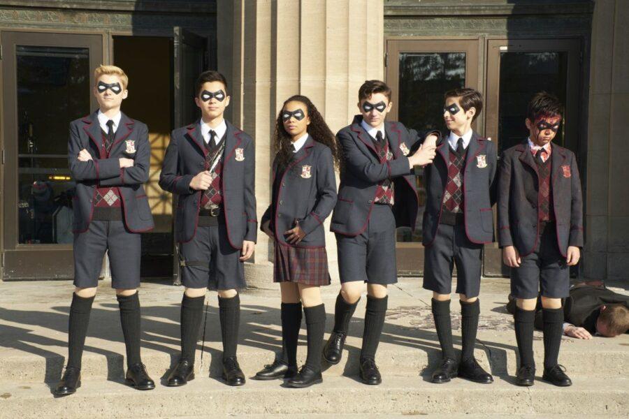 The Umbrella Academy Season 2 kids