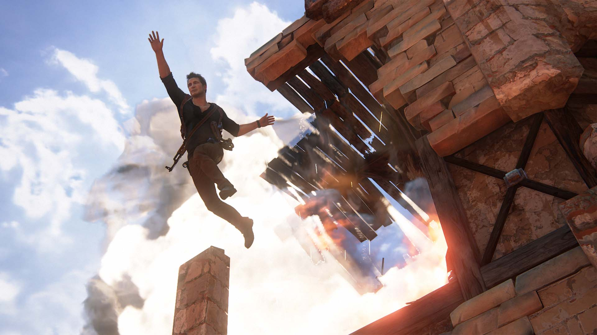 Uncharted Movie: First Look At Tom Holland As Nathan Drake - cover