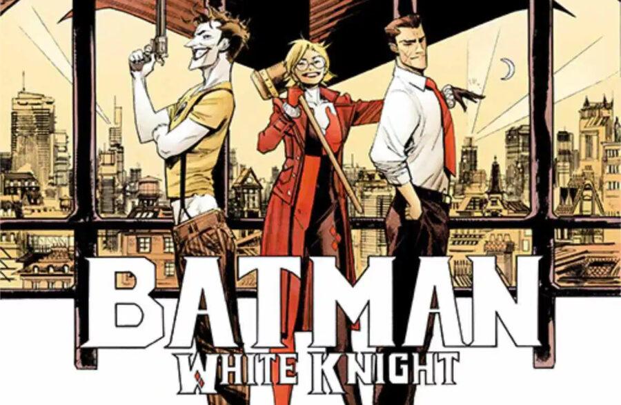 Joker white knight