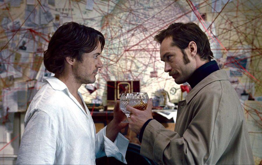 Sherlock Holmes 3 gay
