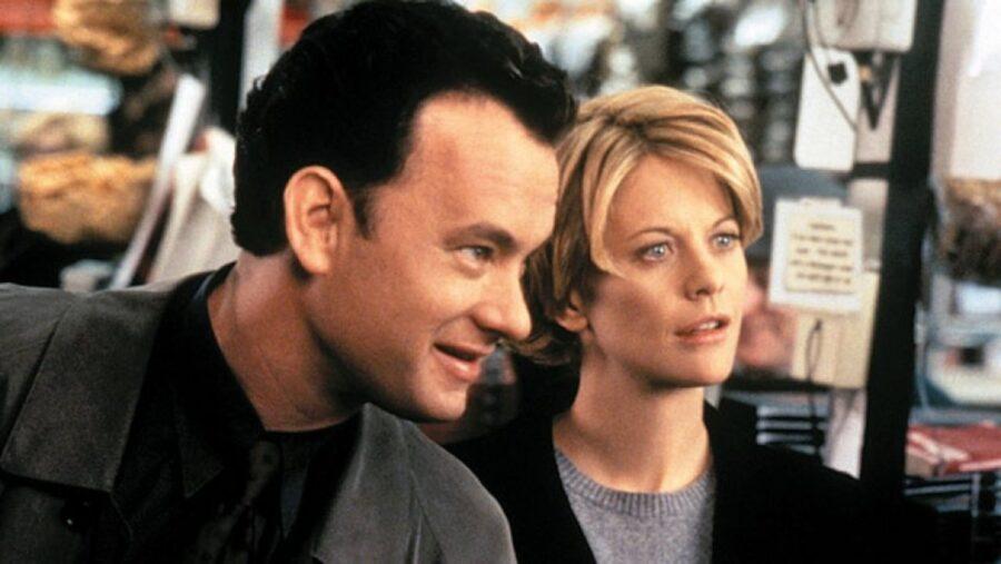 Meg and Tom Hanks