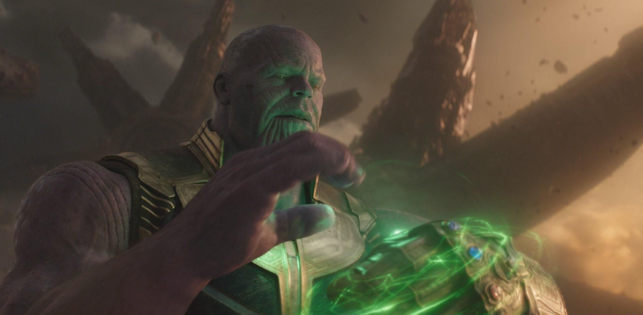 Thanos movie theater