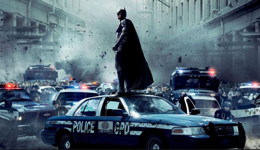Batman protests