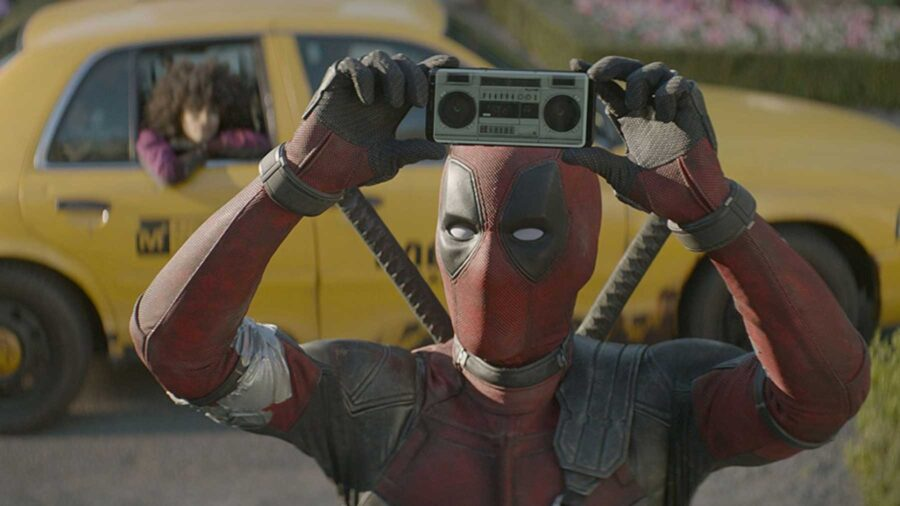 deadpool boom box