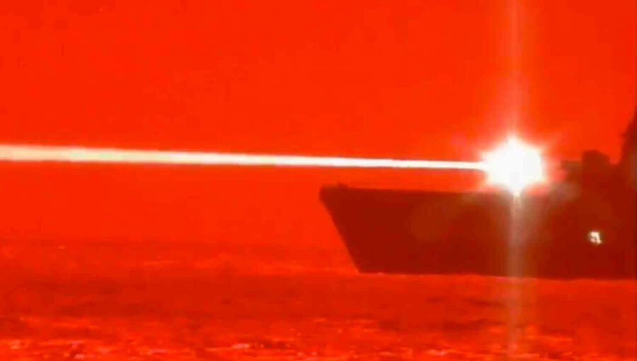 US Navy Laser Weapons