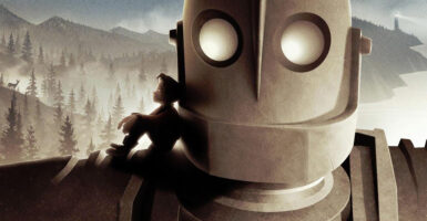the iron giant feature