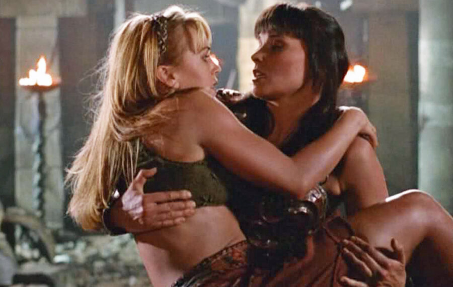 Lucy Lawless gay rights