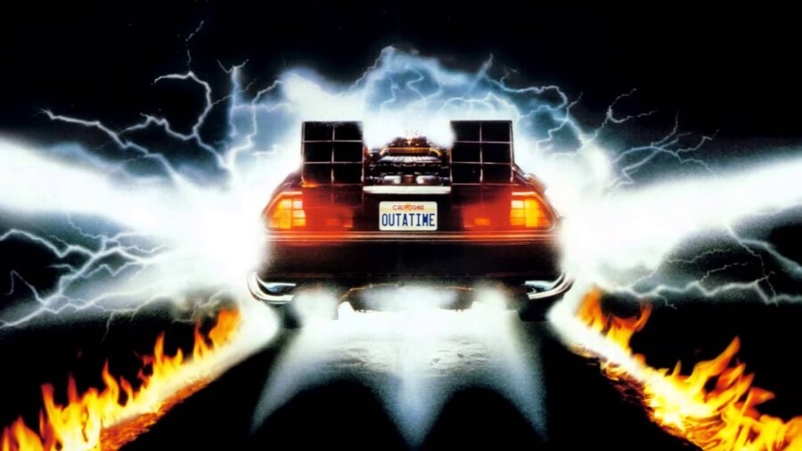 time machine back to the future