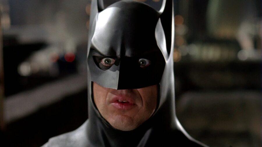Michael Keaton in The Flash