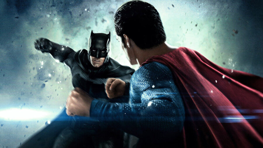 batman v superman punch