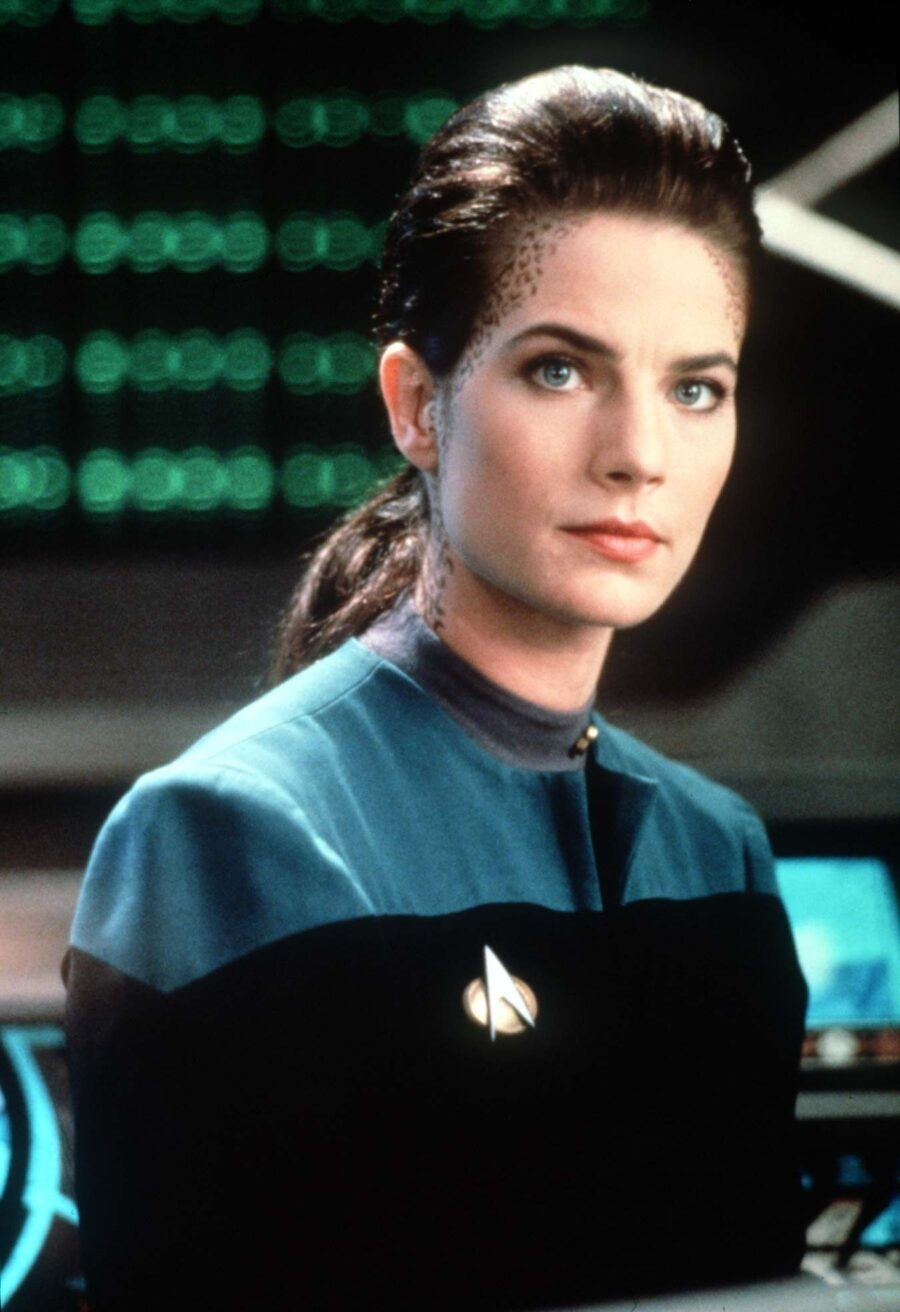 Jadzia Dax on Star Trek