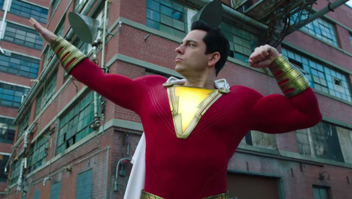 Watch Zachary Levi On Instagram Trying To Put On Muscle For Shazam! 2