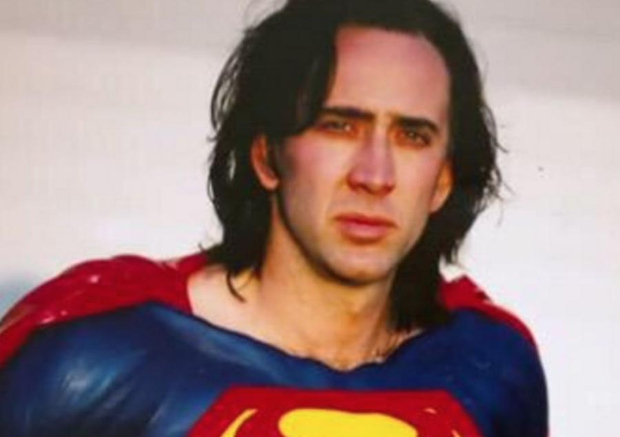 The Flash superman