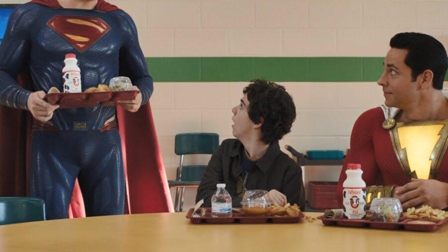 Superman in Shazam sequel
