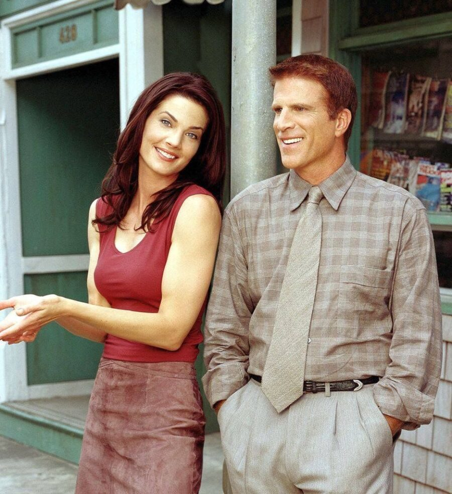 Becker and Terry Farrell