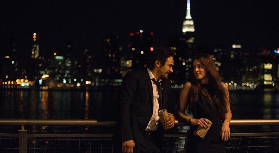 James Franco and Amber Heard