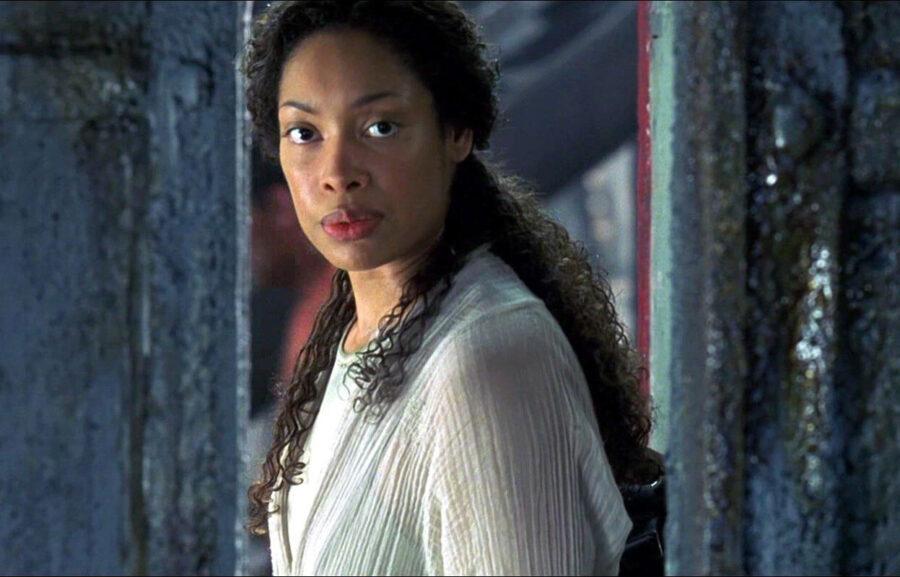 Gina Torres in The Matrix