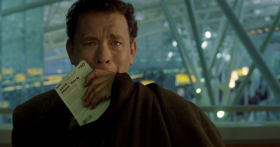 hanks in the terminal