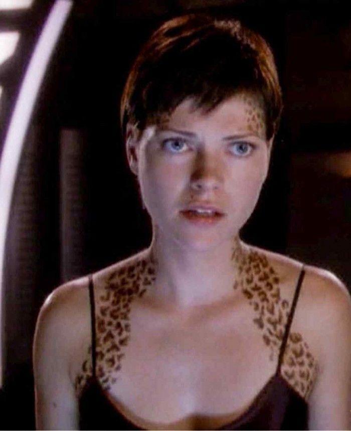 Nicole de Boer on Star Trek