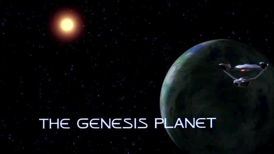 star trek III genesis planet