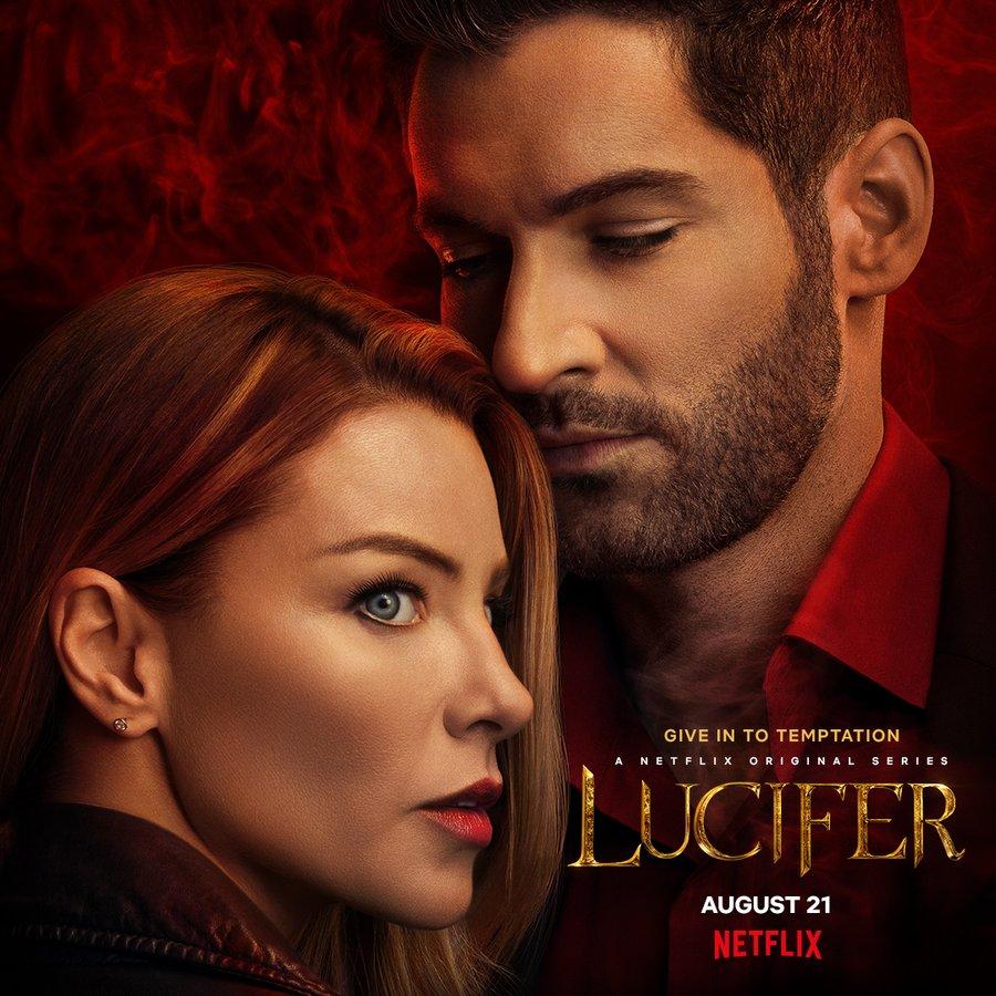 Lucifer season 5 poster