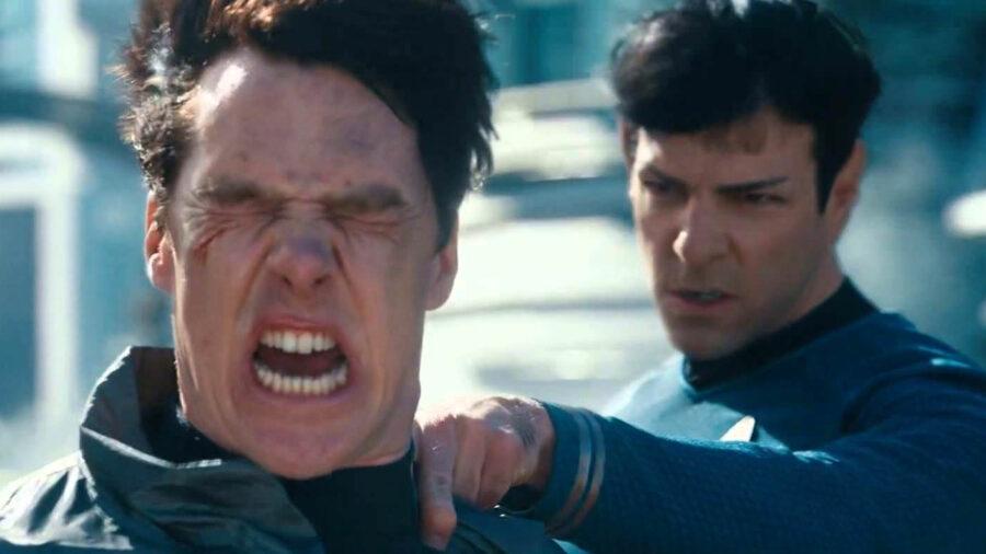 worst star trek movie into darkness neck pinch