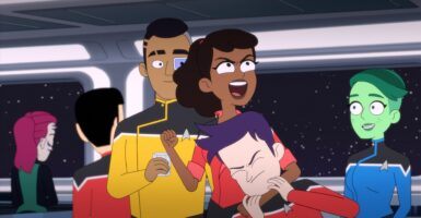 Star Trek: Lower Decks right feature