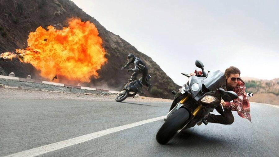 Tom Cruise Motorcyle