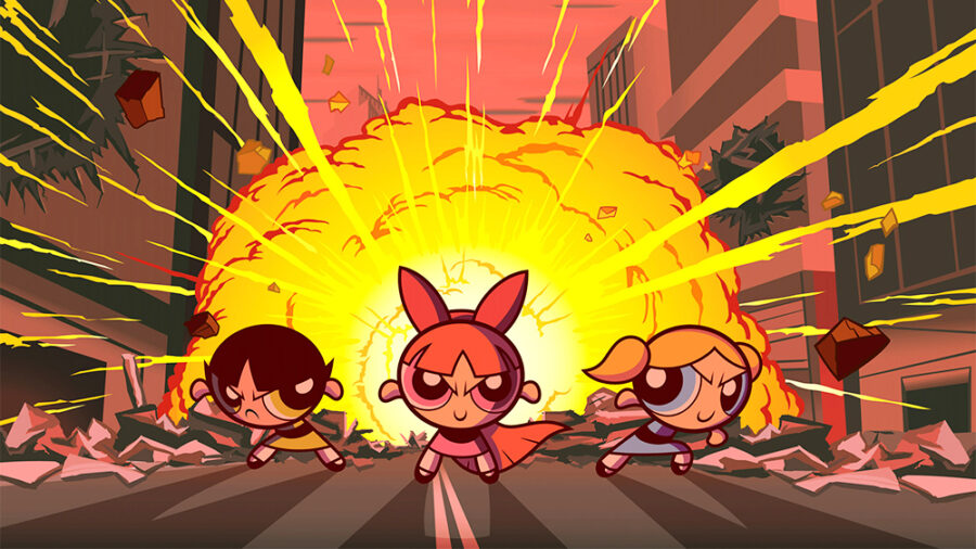 live-action powerpuff girls